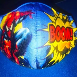 Spider-Man face mask for child 4-7 yrs old